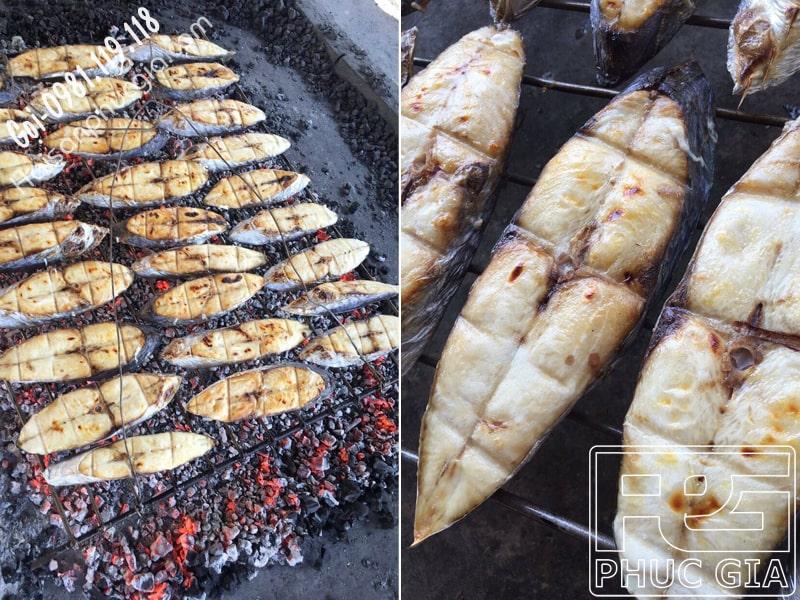 Phúc Gia đại diện bán cá thu phấn nướng giá bao nhiêu tiền 1 kg