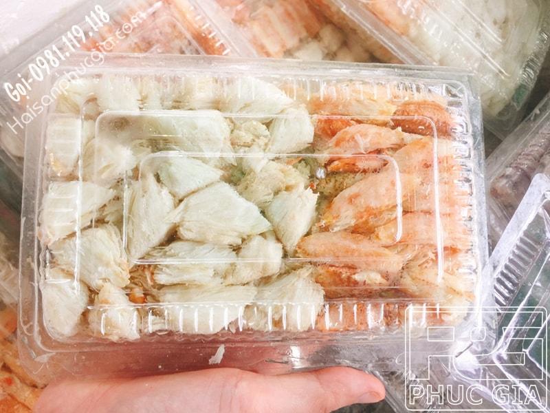 bán sỉ lẻ thịt ghẹ bóc sẵn đóng hộp bao nhiêu